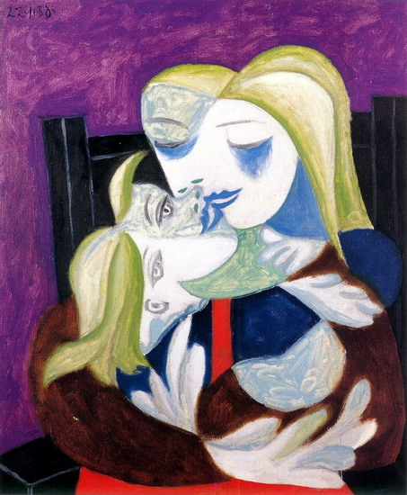Pablo Picasso: Woman and Child (Marie Therese and Maya)